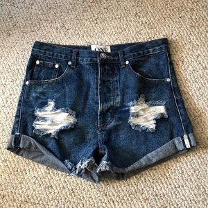 One teaspoon outlaws shorts